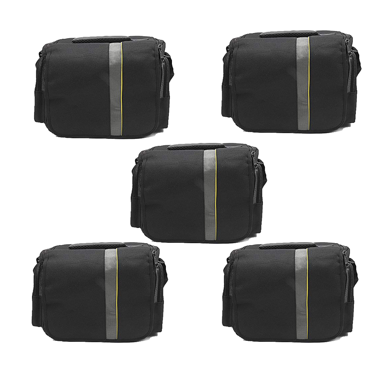 Waterproof Anti-Shock Dslr Camera Bag For Canon, Nikon, Samsung, And Sony Camera Bag -9004 Pack Of 5Pcs Camera Bags Camera Bags