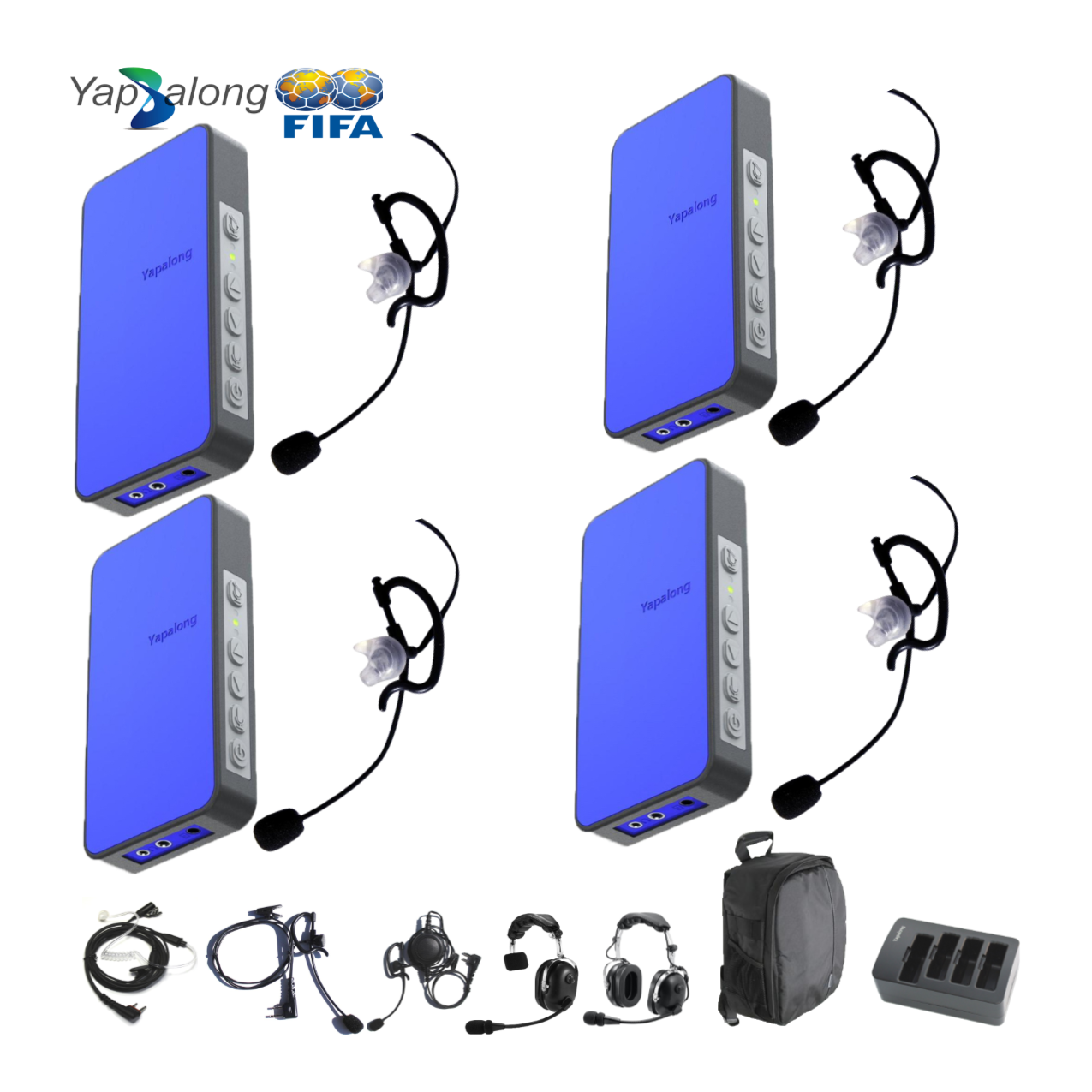 Yapalong 5000 (4-User) Complete Set Intercom Systems Intercom Systems