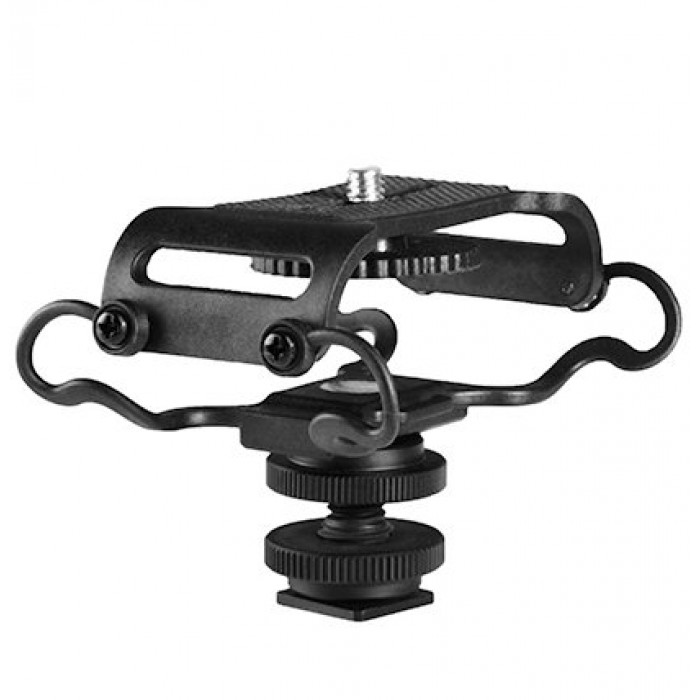 Boya Shock Mount for Camera Recorder, BOYA BY-C10 BY-C10 Universal Microphone and Portable Recorder ShockMount Microphone Accessories audio
