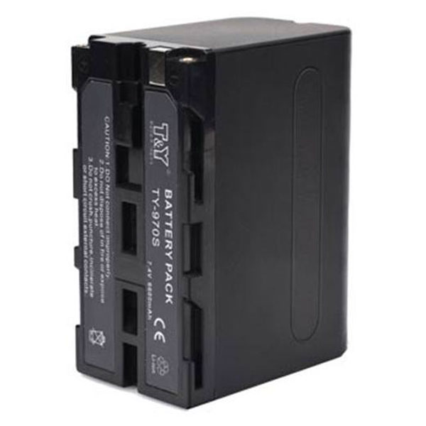 T&Y Battery For Sony Camera -Ty970s Batteries & Power Battery And Charger