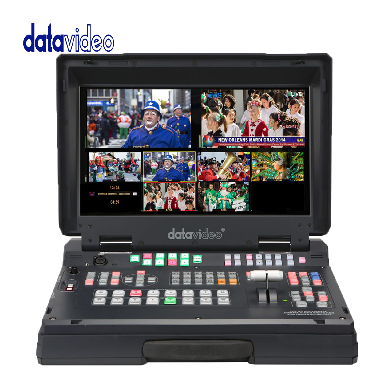 Datavideo HS-2200 HD 6-Channel Portable Mobile Cast Video Studio. Pro Video Data Video