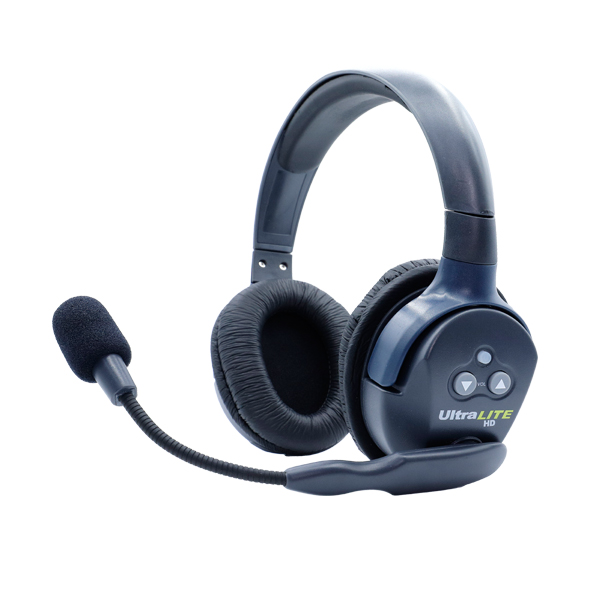 Eartec Ultralite HD Double Remote Headset  W/ Rechargable Lithium  Battery Communications & IFB Eartec