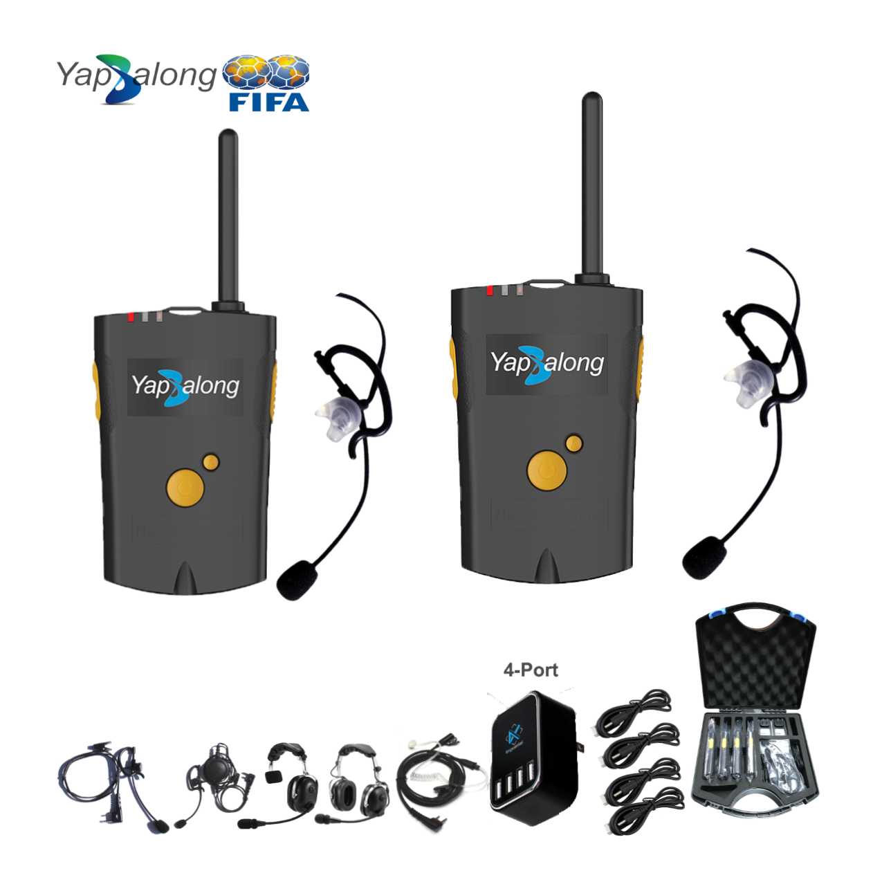Yapalong 4000 (2-User) Complete Set Intercom Systems Intercom Systems