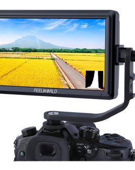 FeelWorld S55 5.5″ Lightweight HDMI Monitor with 4K Input/Output Pro Video [tag]