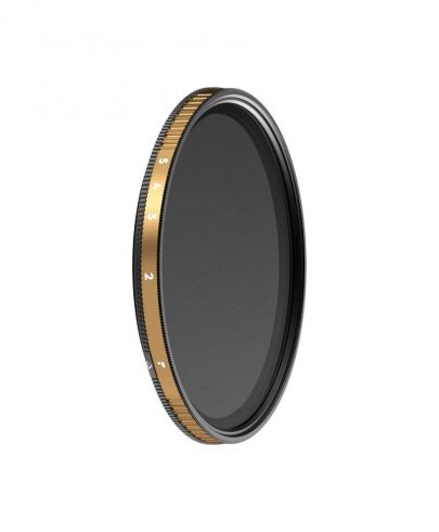 PolarPro 77mm Peter McKinnon Edition Variable Neutral Density 0.6 to 1.5 Filter (2 to 5-Stop) Lens Accessories Lens Filters