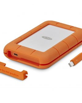 LaCie 1TB Rugged Thunderbolt External SSD with USB Type-C Port Memory Card/ Hard Drive LACIE