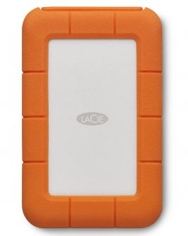 LaCie 2TB Rugged Mobile Hard Drive (Thunderbolt & USB 3.0 Type-C) Memory Card/ Hard Drive LACIE