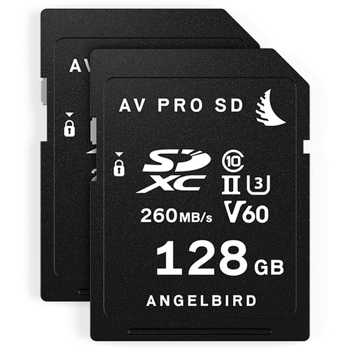 Angelbird 128GB AV Pro MK2 UHS-II SDXC Memory Card (2-Pack) Digital Media [tag]