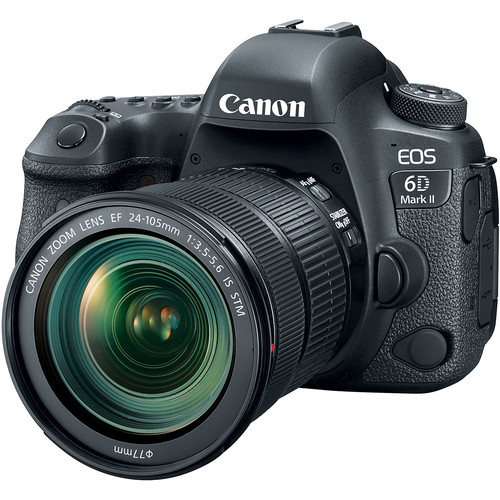 Canon EOS 6D Mark II DSLR Camera with 24-105mm f/3.5-5.6 Lens DSLR Cameras [tag]