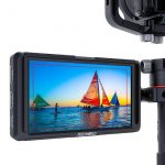 FeelWorld F5 5.0″ Full HD HDMI On-Camera Monitor with 4K Support and Tilt Arm Pro Video [tag]