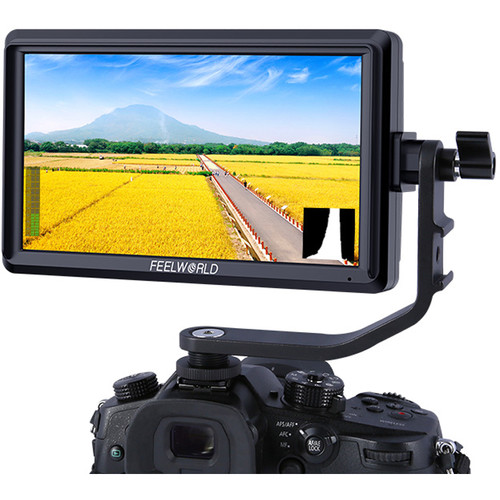 FeelWorld S55 5.5″ Lightweight HDMI Monitor with 4K Input/Output Monitors [tag]