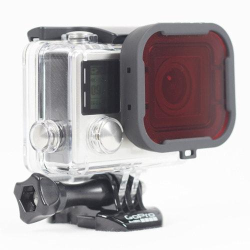 PolarPro Red Dive Filter for GoPro Standard Housing Action & 360 Video Camera GoPro