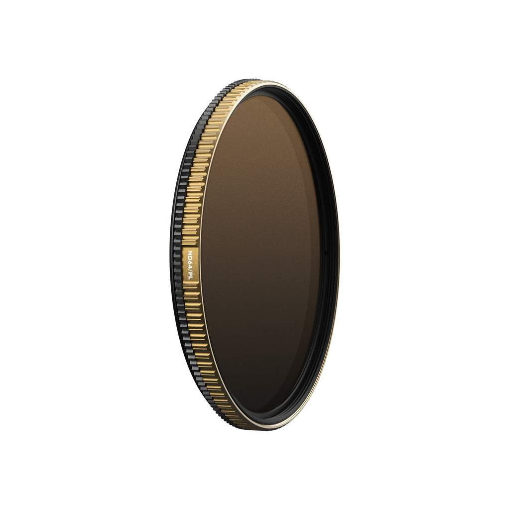 PolarPro 77mm ND64 QuartzLine Solid Neutral Density 1.8 and Circular Polarizer Filter (6-Stop) Lens Accessories Lens Filters