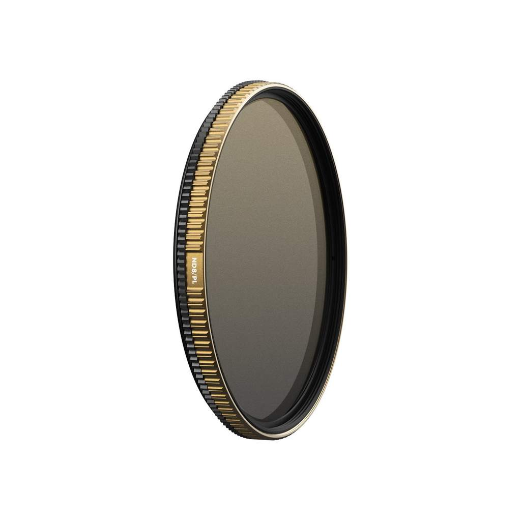PolarPro 37mm ND8 QuartzLine Solid Neutral Density 0.9 and Circular Polarizer Filter (3-Stop) Lens Accessories Lens Filters