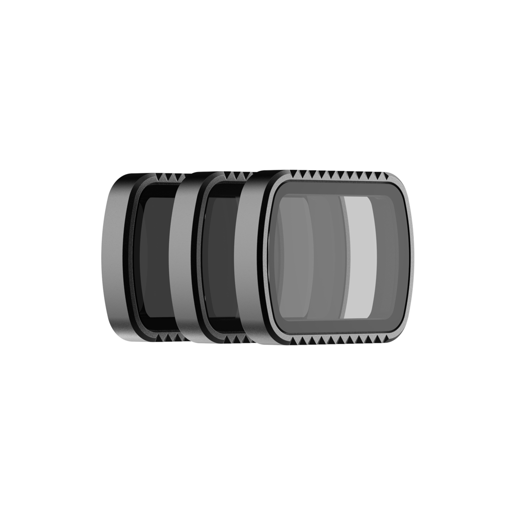 PolarPro Standard Series 3-Pack Filter Kit for DJI Osmo Pocket (ND8, ND16 & ND32) Action & 360 Video Camera Dji
