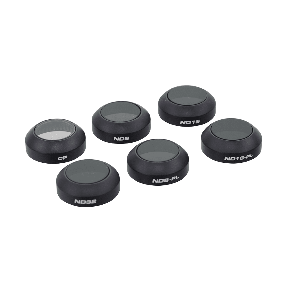 PolarPro Professional 6-Filter Pack for DJI Mavic Pro Drone Parts & Accessories Dji