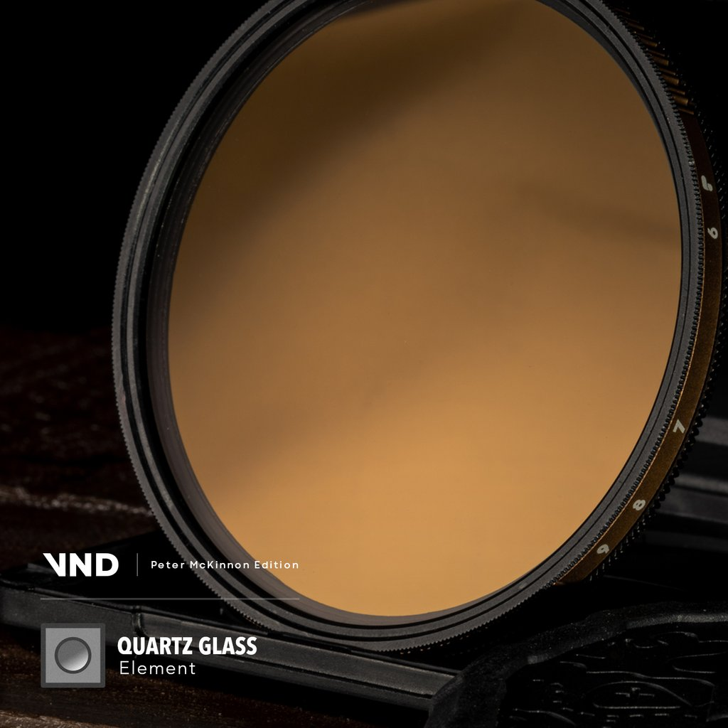 PolarPro 82mm Peter McKinnon Edition Variable Neutral Density 1.8 to 2.7 Filter (6 to 9-Stop) Lens Accessories Lens Filters