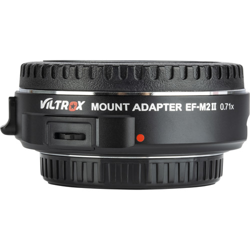 Viltrox EF-M2 II Canon EF Lens to Micro Four Thirds Camera Mount Adapter Follow Focus & Lens Adapters [tag]