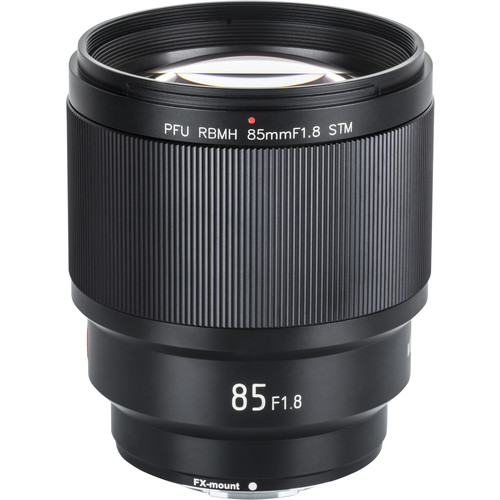 Viltrox PFU RBMH 85mm f/1.8 STM Lens for FUJIFILM X Lenses [tag]