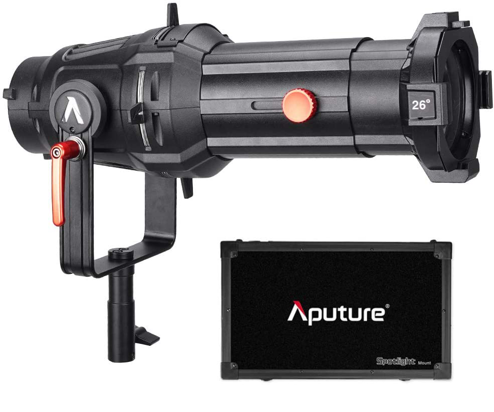 Aputure Spotlight Mount Set with 26° Lens Light Modifiers [tag]