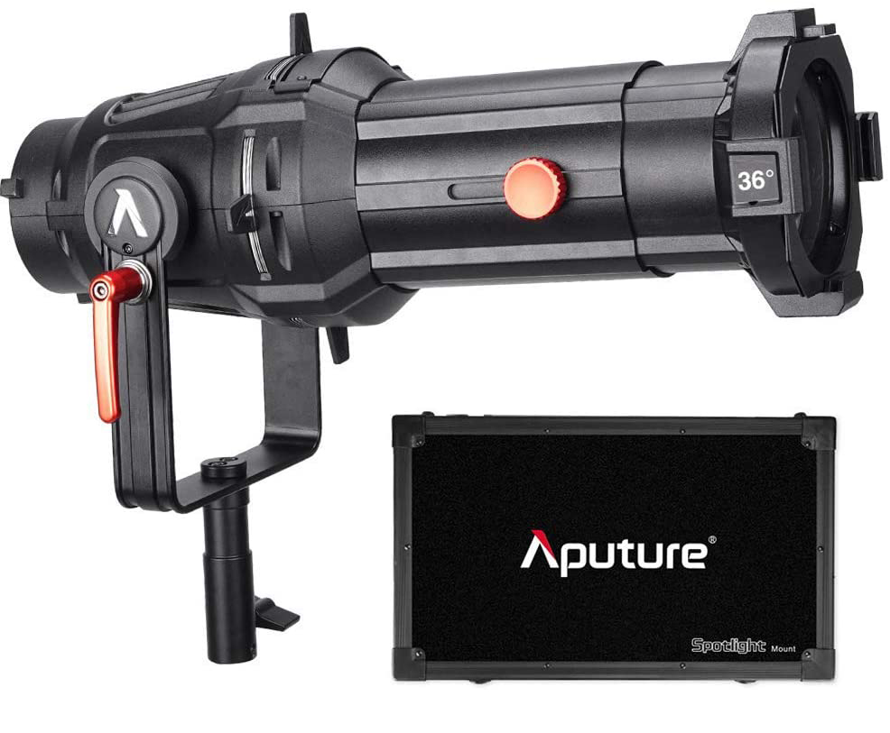 Aputure Spotlight Mount Set with 36° Lens Light Modifiers [tag]