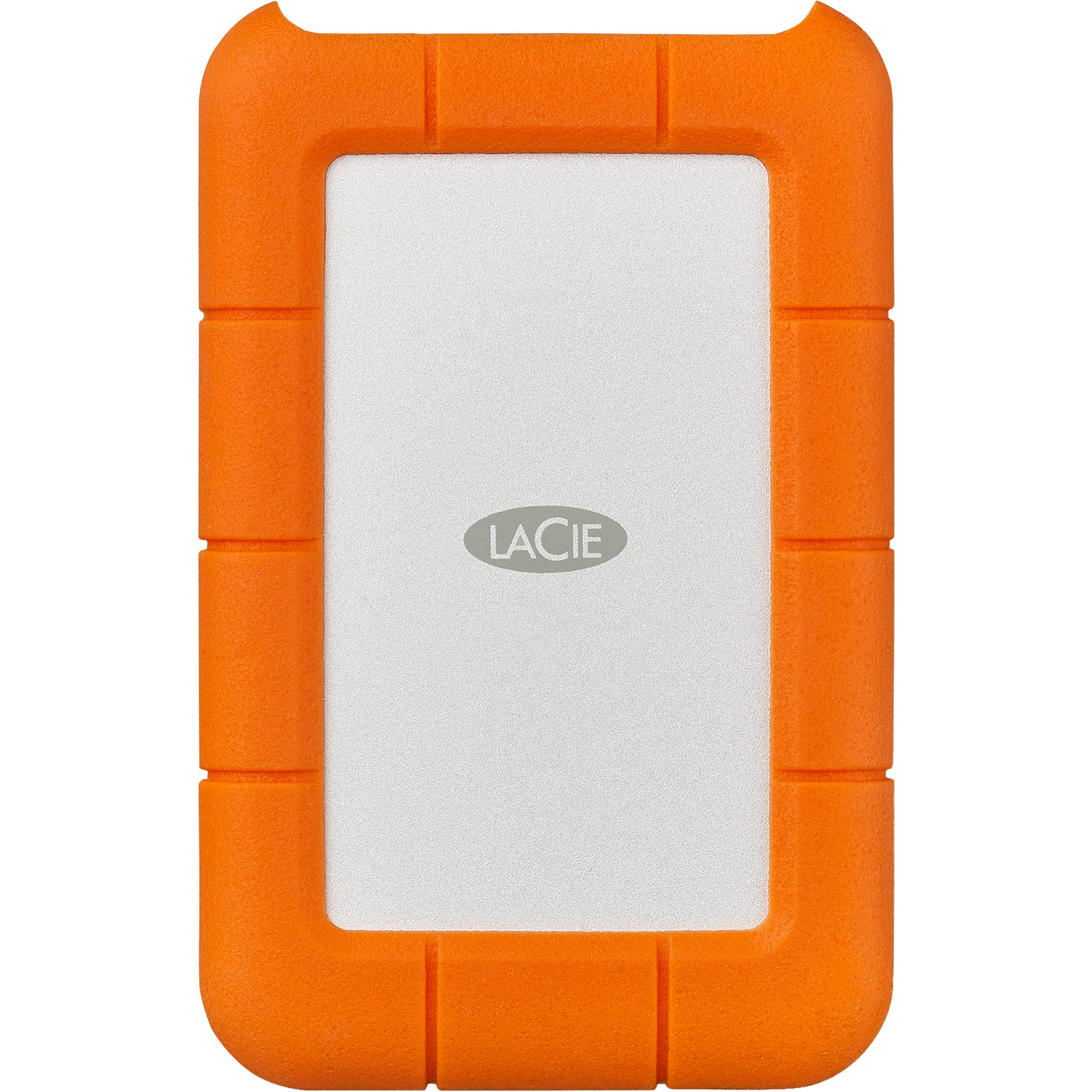 LaCie 5TB Rugged USB 3.0 Type-C External Hard Drive Digital Media LACIE