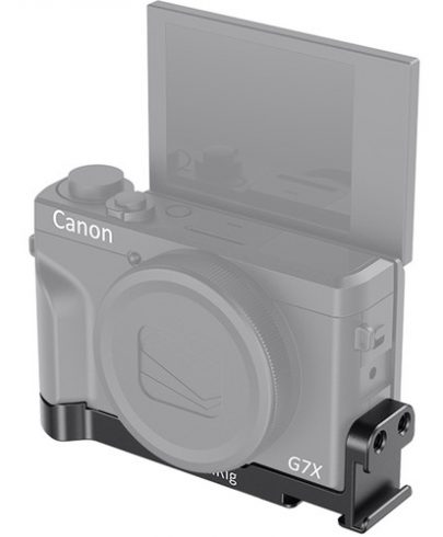 SMALLRIG MOUNTING PLATE WITH TWO COLD SHOES FOR CANON G7X MARK III BUC2433 Pro Video Cages & Accessories