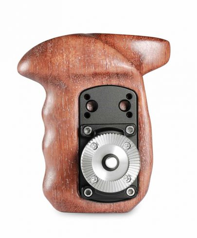 SmallRig Right Side Wooden Grip with Arri Rosette 1941 Pro Video Cages & Accessories