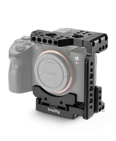 SmallRig QR Half Cage for Sony A7R III/A7 II/A7R II/A7S II 2098 DSLR Video Supports & Rigs Cages & Accessories