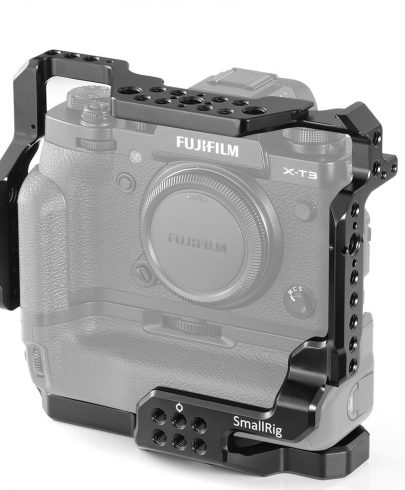 SmallRig Cage for Fujifilm X-T3 Camera with Battery Grip 2229 DSLR Video Supports & Rigs Cages & Accessories
