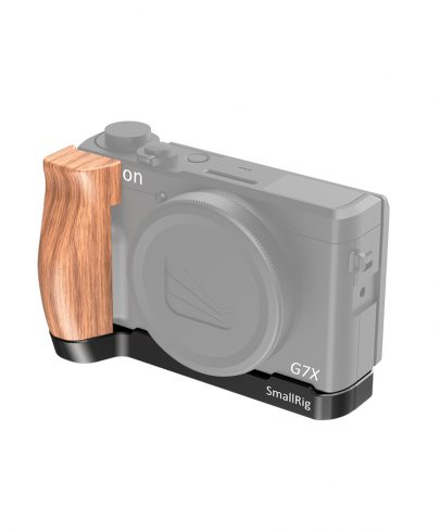 SMALLRIG L-SHAPED WOODEN GRIP FOR CANON G7X MARK III LCC2445 Pro Video Cages & Accessories