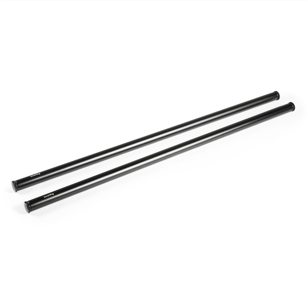 SmallRig 15mm Aluminum Rod (Pair, Black, 18″) Pro Video Cages & Accessories