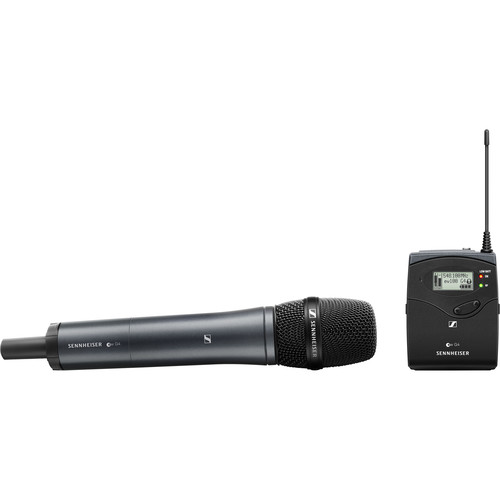Sennheiser EW 135P G4 Camera-Mount Wireless Cardioid Handheld Microphone System (A: 516 to 558 MHz) Audio [tag]