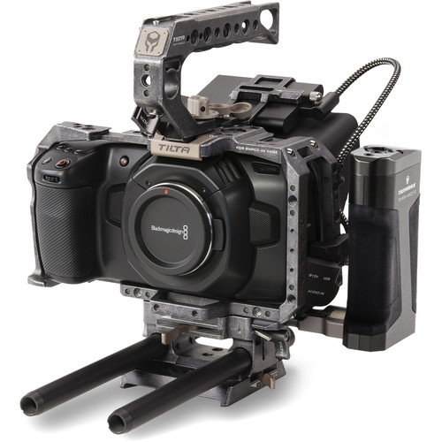 Tilta BMPCC 4K/6K Advanced Module (Tactical Gray) Pro Video Cages & Accessories