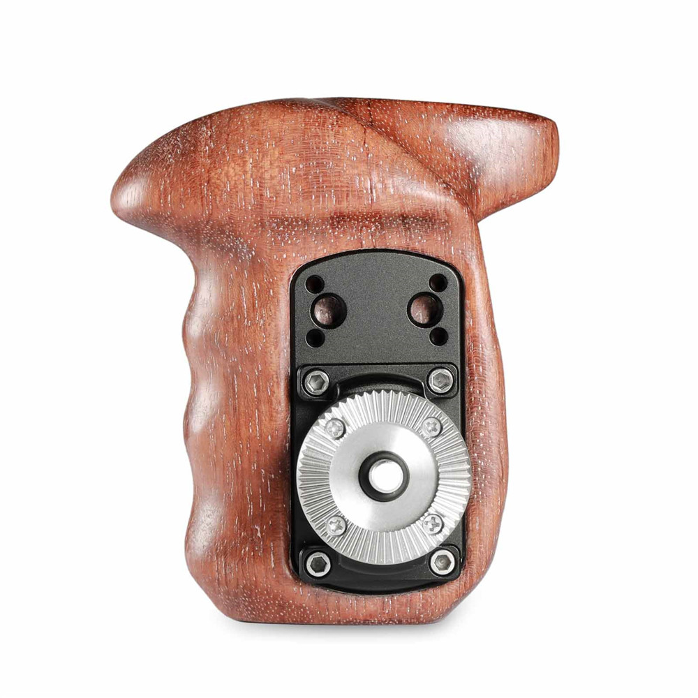 SmallRig Right Side Wooden Grip with NATO Mount 2117 Pro Video Cages & Accessories