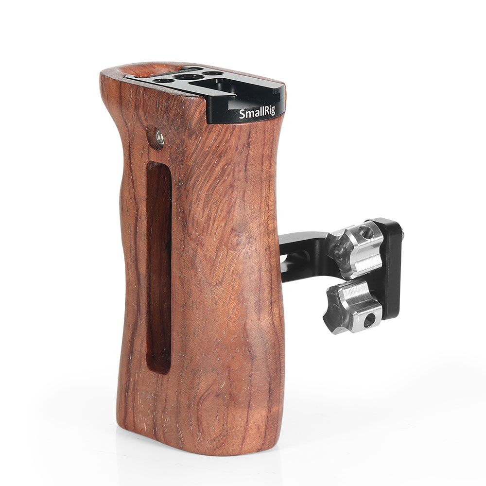 SmallRig Wooden Universal Side Handle 2093 Pro Video Cages & Accessories