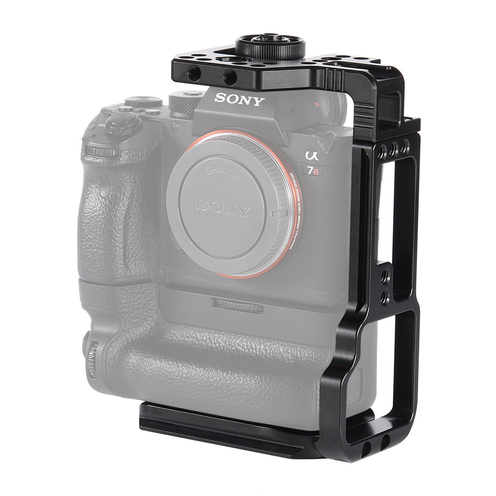 SMALLRIG L-BRACKET FOR SONY A7III/A7RIII CAMERA AND BATTERY GRIP APL2341 Pro Video Cages & Accessories