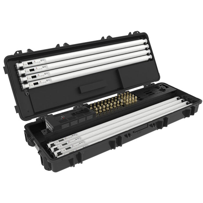 Astera Set Of 8 Titan Tubes With Charging Case Continuous Lighting ASTERA