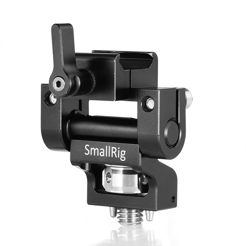 SMALLRIG MONITOR MOUNT WITH NATO CLAMP AND ARRI LOCATING PINS BSE2256 Monitors Accessories Cages & Accessories