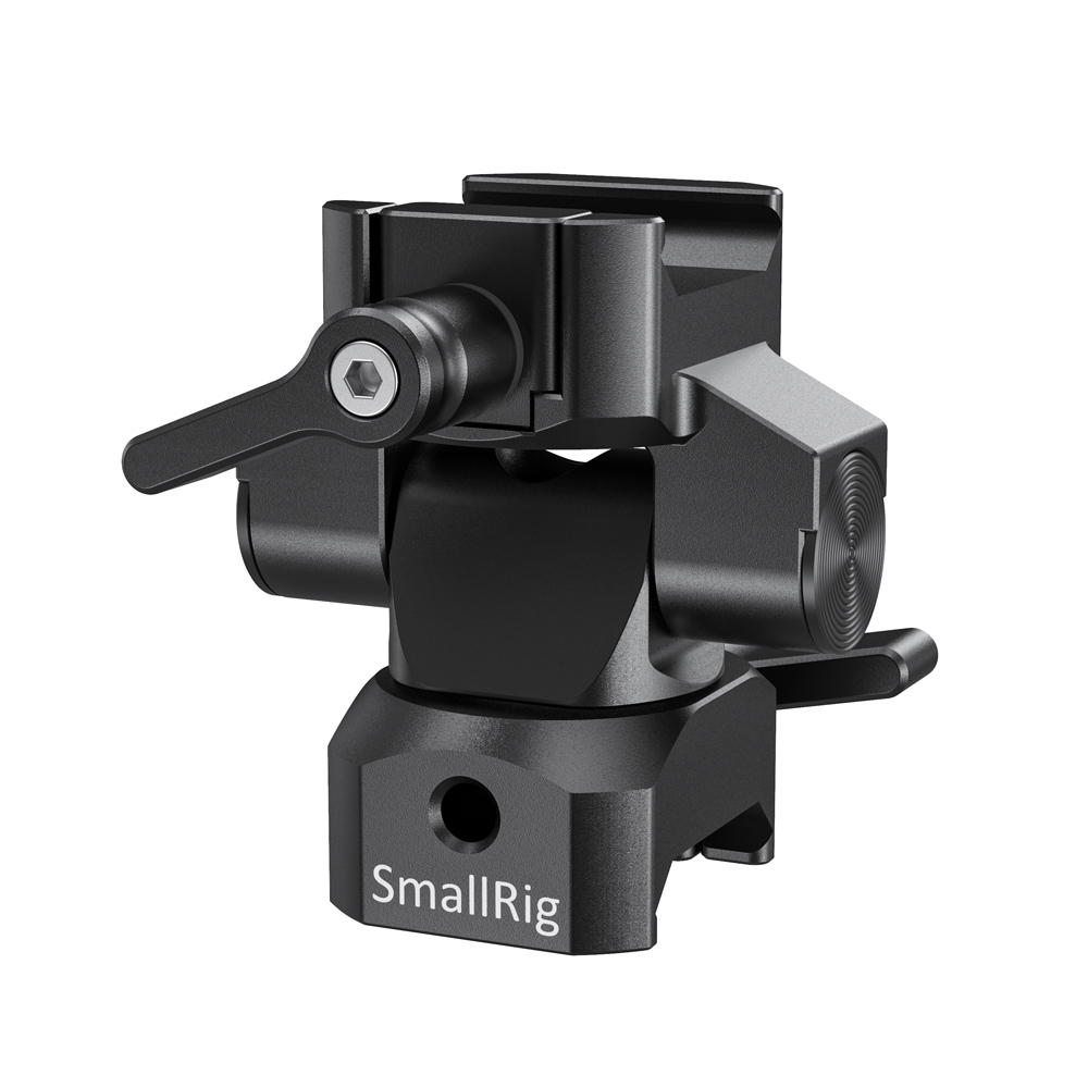 SmallRig Swivel and Tilt Monitor Mount with Nato Clamp(Both Sides) BSE2385 Monitors Accessories Cages & Accessories