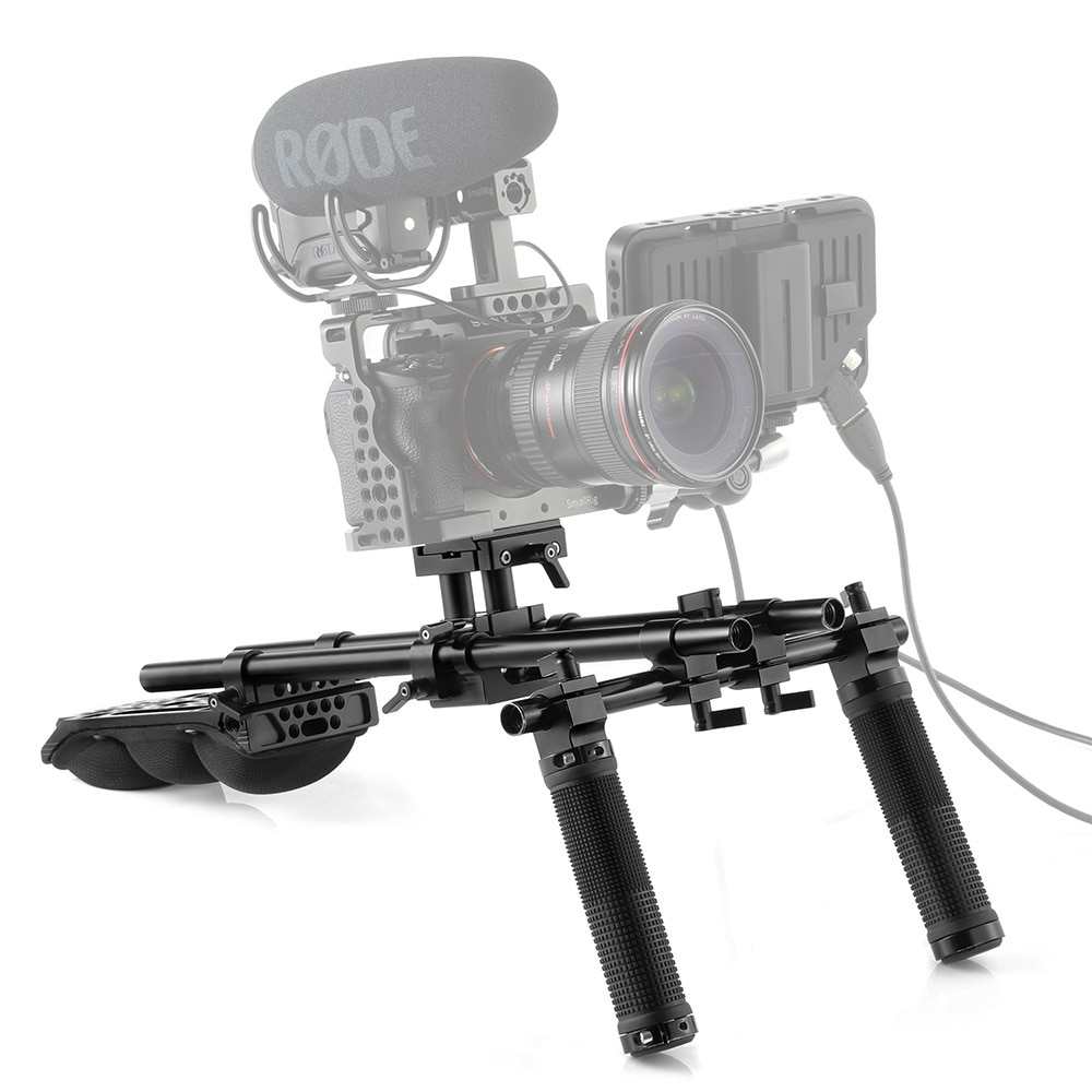 SmallRig Advanced Universal Shoulder Pad Kit KGW101 Pro Video Cages & Accessories