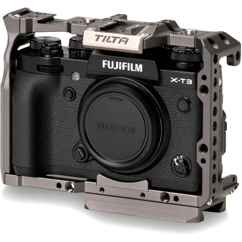 Tilta Full Camera Cage for Fujifilm X-T3 (Tilta Gray) DSLR Video Supports & Rigs Cages & Accessories