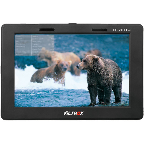 Viltrox DC70 II 7″ LCD On-Camera Monitor Monitors [tag]