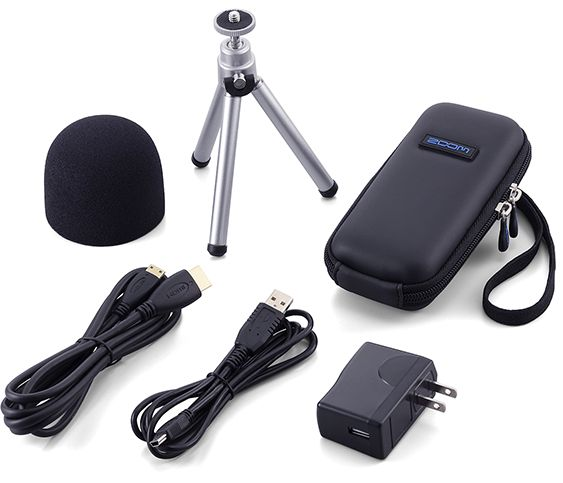 Zoom Accessory Pack – Q2 HD Portable Recorder Accessories [tag]