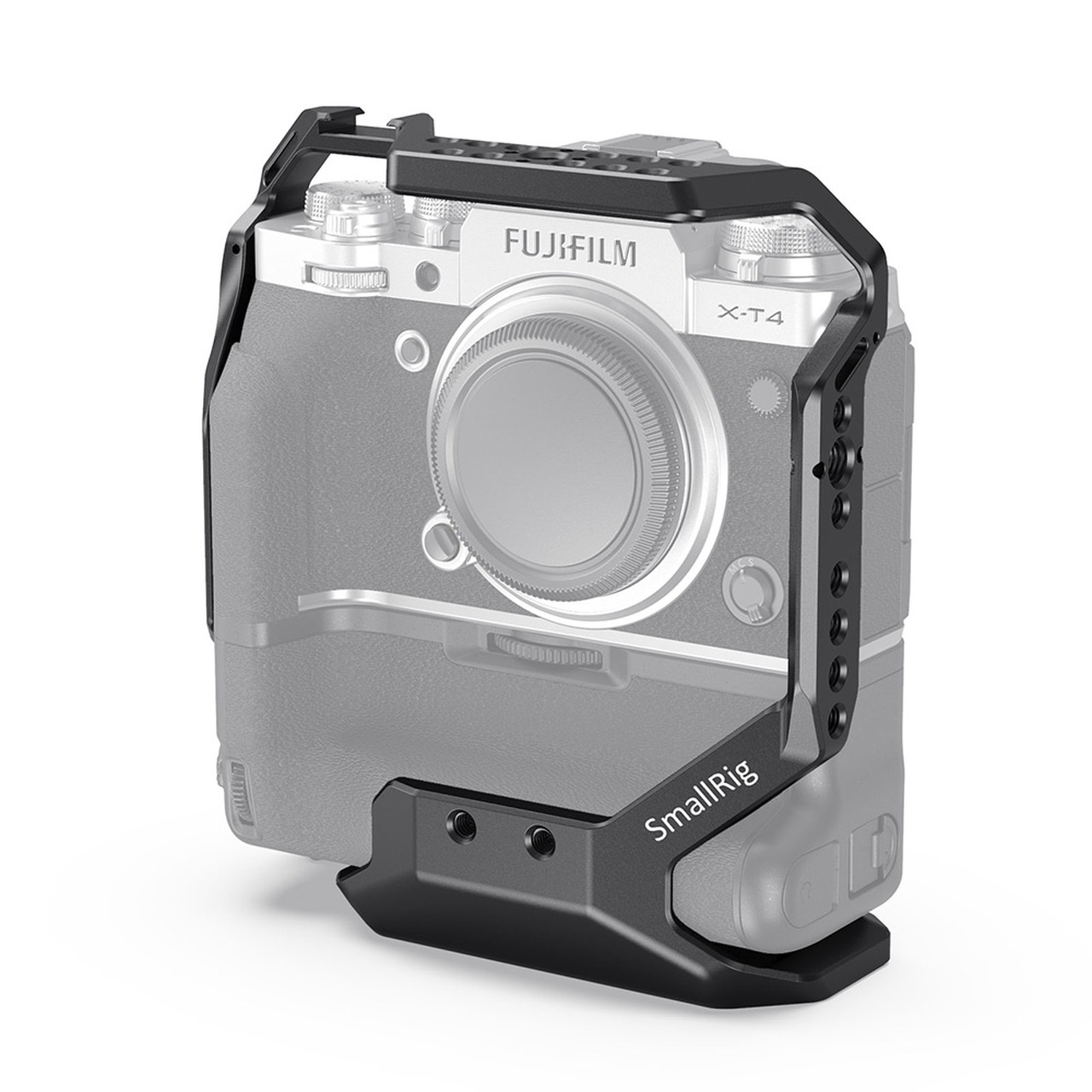 SmallRig Cage for FUJIFILM X-T4 with VG-XT4 Vertical Battery Grip CCF2810 Batteries & Power Cages & Accessories