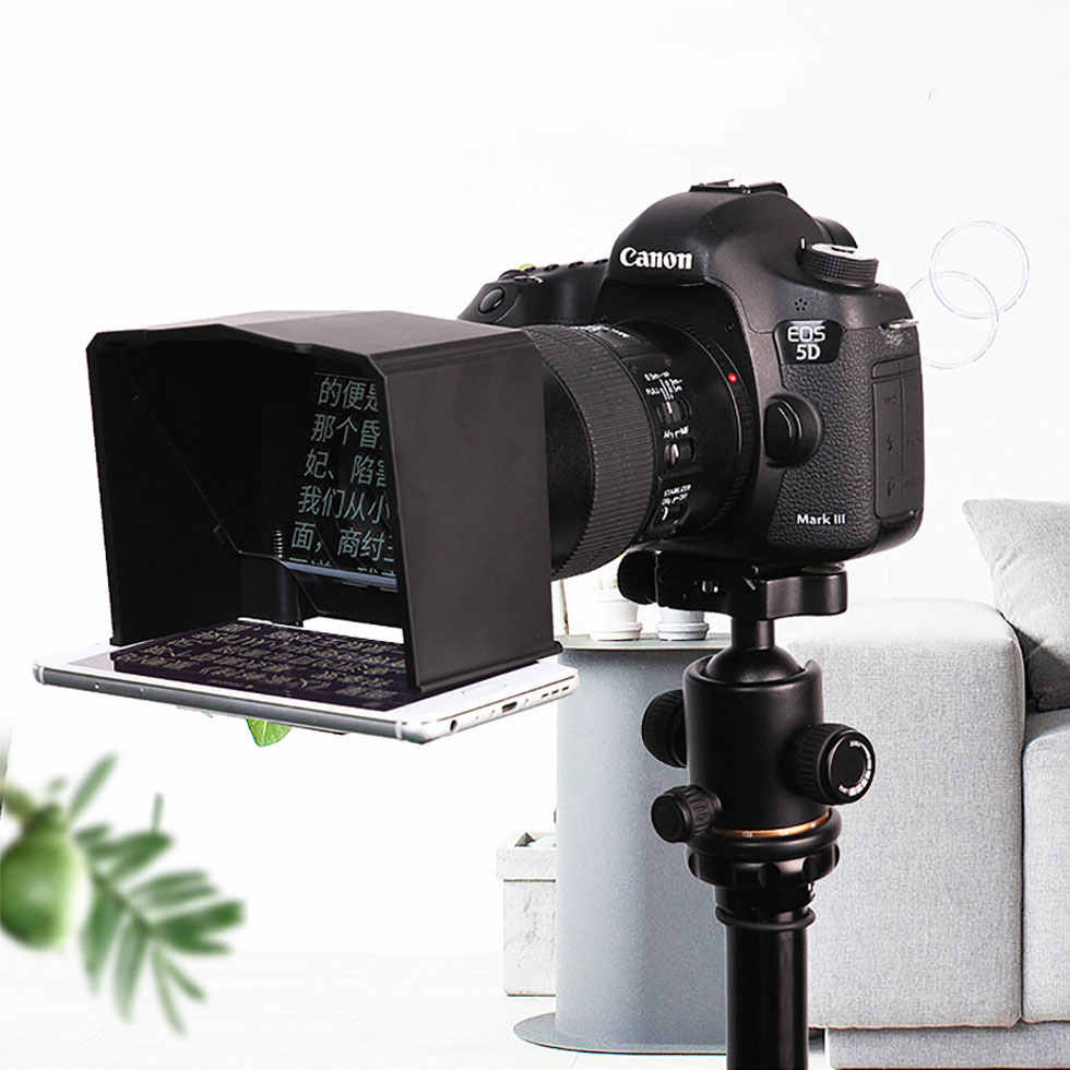 Bestview T2 Teleprompter for Smartphone and Pad Mobile, IPad & Tablet Telepromter Bestview