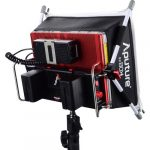 Aputure Amaran Tri-8s Spot Daylight LED Light with Gold Mount Battery Plate Continuous Lighting Aputure
