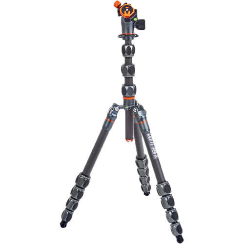 3 Legged Thing Albert 2.0 Tripod Kit with AirHed Pro Ball Head (Gray) Pro Video 3 Legged Thing