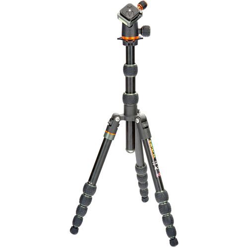 3 Legged Thing Corey Aluminum Travel Tripod with AirHed Neo Ball Head (Black) Pro Video 3 Legged Thing