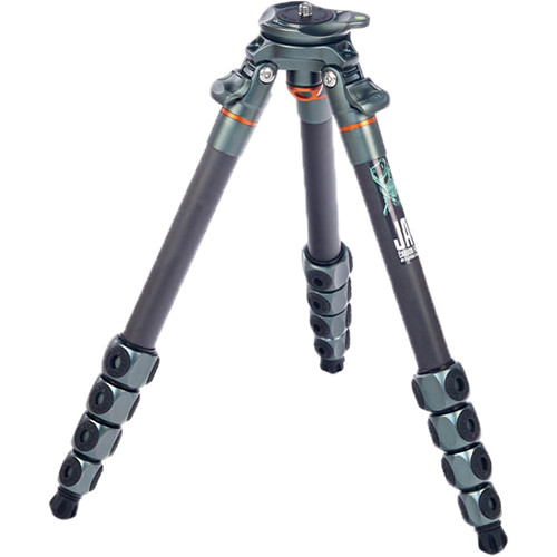 3 Legged Thing Jay Carbon Fiber Travel Tripod Legs with Quick Leveling Base Pro Video 3 Legged Thing